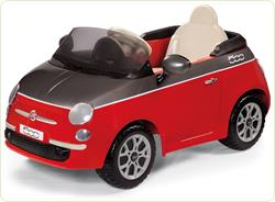 Fiat 500 Red/Grey