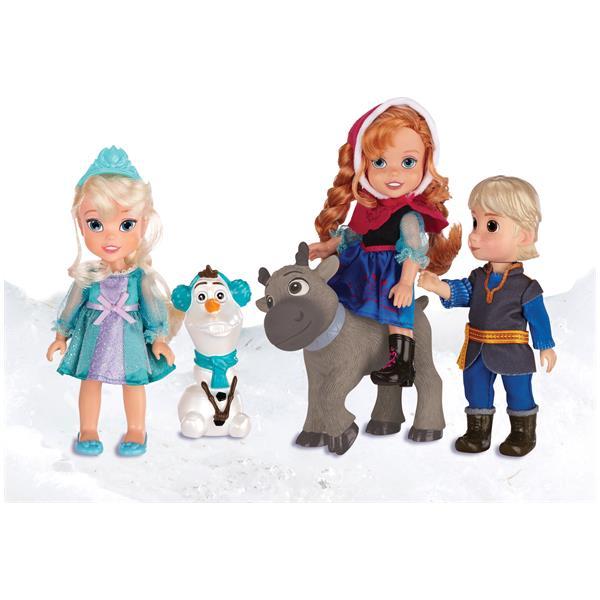 Frozen Toys R Us : Frozen anna elsa kristoff olaf sven jakks pacific