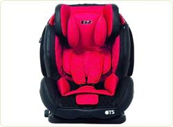 Scaun auto Cruizer GTS 09-36 kg Isofix red/black